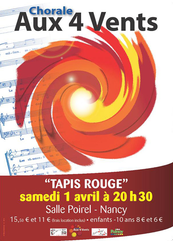 Choral aux 4 vents - Tapis Rouge 2017